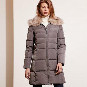 Quilted Down Coat - Coats � Coats & Trenches - RalphLauren.com