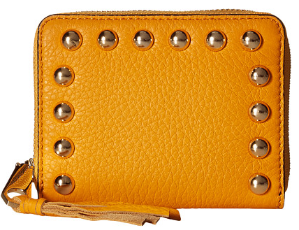Rebecca Minkoff Mini Ava Zip Wallet with Studs