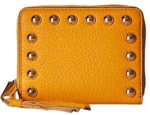 Rebecca Minkoff Mini Ava Zip Wallet with Studs