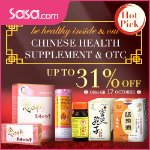Chinese Health Supplement & OTC @ Sasa.com