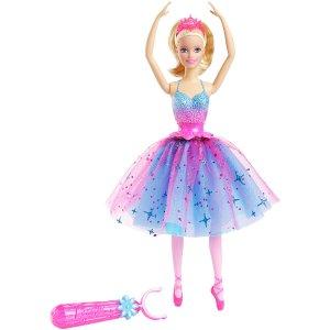 Barbie Dance & Spin Ballerina Doll - Mattel - Toys