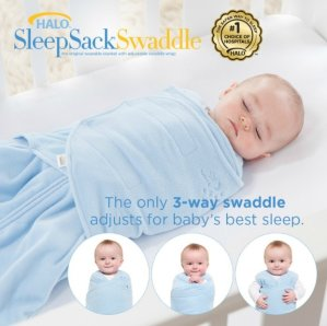 Halo Swaddlesure Adjustable Swaddling Pouch, Small