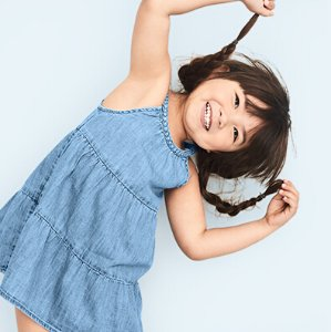 Up to 50% Off + Extra 40% Off Kids + Baby Clothing Sale @ Gap.com