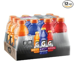Gatorade Fierce Thirst Quencher Variety Pack, 20 Ounce Bottles (Pack of 12)