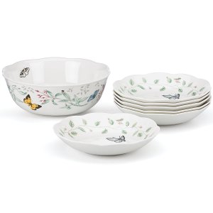 Butterfly Meadow® 7-pc Salad Set | Dinnerware Sets