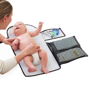 $7.36 Summer Infant - ChangeAway Portable Changing Pad & Diaper Kit