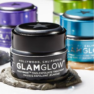 Up to $58 value gifts with any $129 purchase @ GlamGlowMud