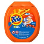 $14.14 Tide Pods HE Turbo Laundry Detergent Packs, Original Scent, 81 Count