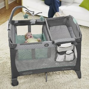 $71.99Graco Pack 'n Play Playard with Change 'n Carry Portable Changing Pad, Manor