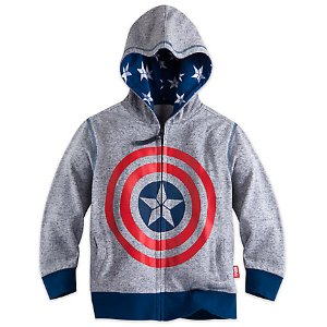 Captain America Icon Hoodie for Boys | Disney Store