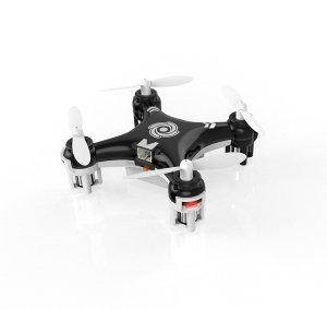 Metakoo Cheerson CX-10A Mini RC Quadcopter Headless Mode 2.4G 4CH 6 Axis Mini Quadcopter Drone (Black)
