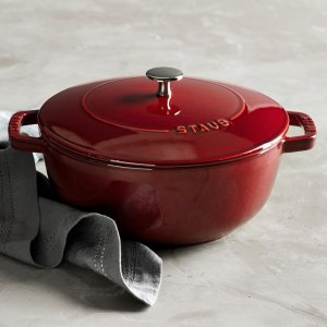 103.99Staub Cast-Iron Essential Oven, Red Color