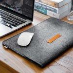 Inateck Macbook / iPad Pro Sleeve Case Bag w/ Felt Mouse Bag