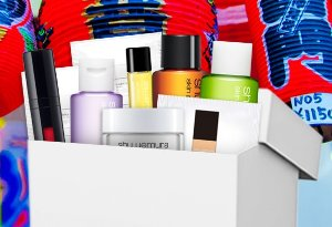 get 10 samples( $60 Value) with orders $50+ @ Shu Uemura USA