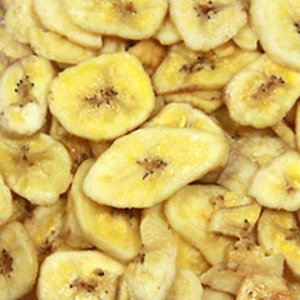 Sweetened Banana Chips 6 oz Container
