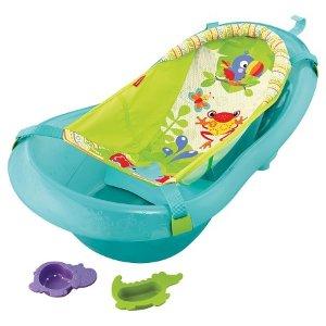 Fisher-Price® Baby Bath Tub Ocean Blue : Target