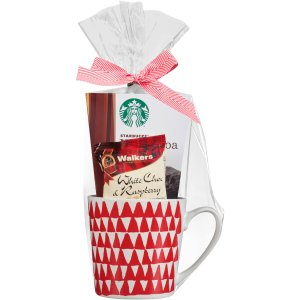 Starbucks #25 Starbucks Single Mug Gift Set, 4 pc - Walmart.com