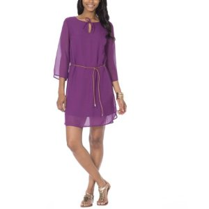 $6.00Moda Women's Belted Shift Dress