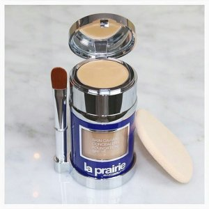 2 Free Samples La Prairie 'Skin Caviar' Concealer + Foundation Sunscreen SPF 15