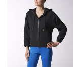 adidas by Stella McCartney Essentials Hoodie S16185 Black - 6pm.com