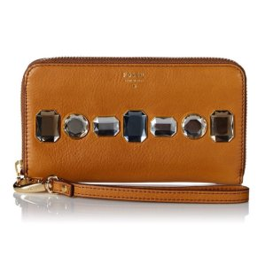 $34.12 Fossil Sydney Zip Around Phone Wallet