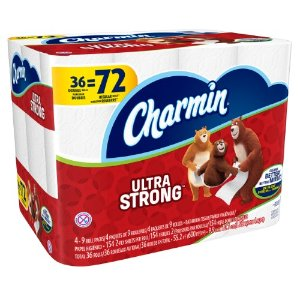 Charmin Ultra Strong Toilet Paper, 36 Double Rolls | Jet.com