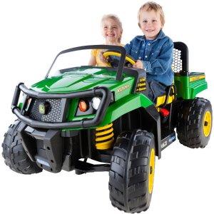 Peg Perego John Deere Gator XUV 12-volt Battery-Powered Ride-On - Walmart.com