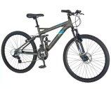 26 in Mongoose Men's Dual Suspension Mountain Bike