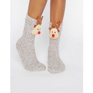 ASOS | ASOS Holidays Reindeer Cozy Sock Gift Box