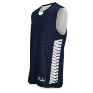 Eastbay EVAPOR Elevate Team Jersey - Men's - Basketball - Clothing - Black/Silver/White