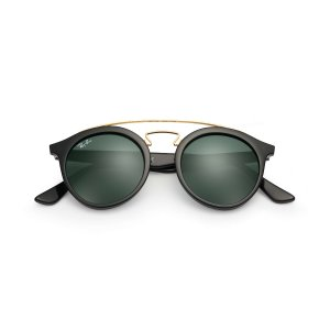 Ray-Ban RB4256 Black,Gold Black, Green Lenses | Ray-Ban® USA