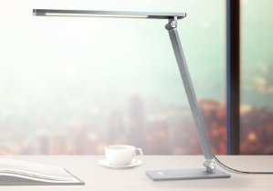 $23.19TaoTronics Metal LED Desk Lamp, Table Lamps for Bedrooms Rugged and Durable Metal Body