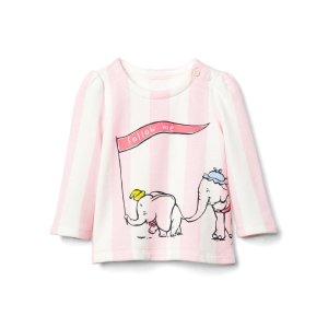babyGap | Disney Baby Dumbo striped sweatshirt | Gap