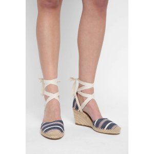 Sam Edelman Patsy Lace Up Espadrille Wedges   South Moon Under