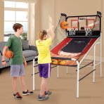 $49 ESPN Premium 2-Player Basketball Game with Authentic Clear Backboard