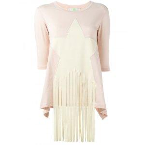 Stella McCartney Fringed Star Sweater | Tessabit shop online