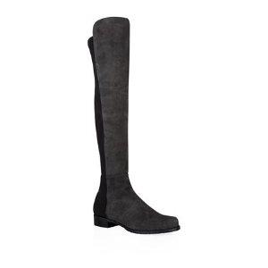 Stuart Weitzman 5050 Suede Over-The-Knee Boot | Harrods
