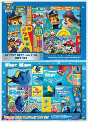 Start!$24.98Deluxe Read and Play Gift Set, Paw Patrol or Dory
