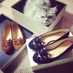 Up to $300 Gift Card Charlotte Olympia Shoes @ Neiman Marcus