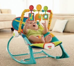 Fisher-Price Infant To Toddler Rocker, Dark Safari @ Amazon