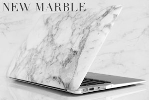 ONLY $9.99iBenzer Macbook NEW Marble Plastic Hard Case
