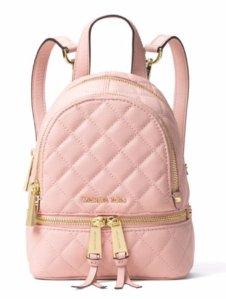 $116.1(Org. 258) MICHAEL Michael Kors Rhea Zip Mini Messenger Backpack @ macys.com