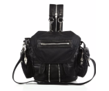 Alexander Wang Marti Mini Convertible Nylon & Leather Backpack
