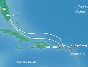$564+7 Days Caribbean-Eastern Celebrity Reflection with up to $1700 Onboard Credit