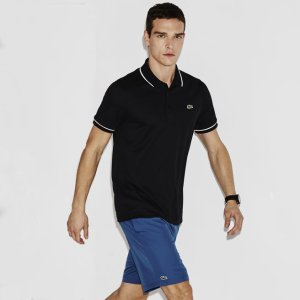 Men's SPORT Ultra-Dry Piping Tennis Polo Shirt | LACOSTE