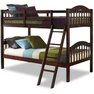 From $149.88 Storkcraft Long Horn Twin Over Twin Bunk Bed