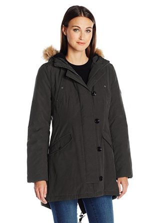 $51.43 Tommy Hilfiger Women's Fitted Quilted Parka