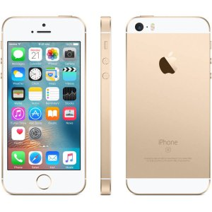 $299 Apple iPhone SE 16GB Cellular Unlocked, Gold