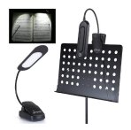 $4.99 Donner DL-3 Music Stand Light Cilp On Flexible Touch Switch