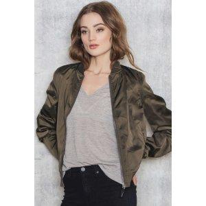 Price Linda 2 bomber jacket - Buy online | NA-KD